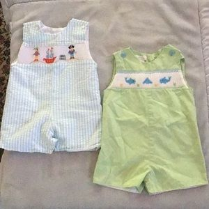 Petit Ami Matching Sets - Petit Ami and Petite Palace 12m Boy Set